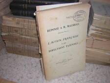1914.l'action française et ses directions paiennes / abbé Jules Pierre.maurras