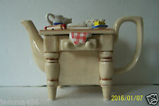 1987 SUNSHINE CERAMICS FIGUAL TEAPOT MADE IN ENGLAND