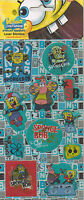 SPONGEBOB SQUAREPANTS LASER STICKERS 3 PACKS - 11 STICKERS PER PACK