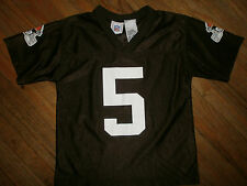 CLEVELAND BROWNS JEFF GARCIA 5 JERSEY Boys LARGE Size 7 Youth Kids