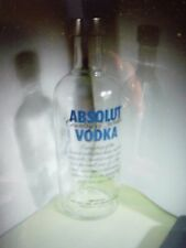 1 ABSOLUT VODKA 375 ml Empty Bottle for collectible