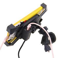 2in1 Universal Fahrrad Motorrad Halterung Magnet Handy Ladegerät Navi Gitter GPS