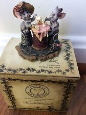 NIB ~ Boyd's Bears & Friends ~Critter & Co ~ Lucy and Ethel ... Tea Time Tails