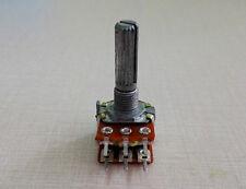 10Pcs B10K Ohm Dual Linear Taper  Rotary Potentiometer Pot 25mm Shaft 6 Pins