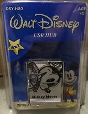 Mickey Mouse Cartoon Sketch Retro USB 4 port laptop PC Christmas Stocking Filler