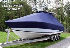 CUSTOM BOAT COVER Boston Whaler 210 Outrage w/T-TOP Single Motor low/High rails