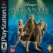 Atlantis The Lost Empire - PS1 PS2 Complete Playstation Game