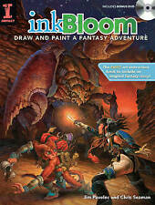 Ink Bloom: Draw and Paint a Fantasy Adventure, Pavelic, Jim, New Book