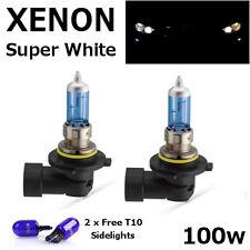 HB4 80w 100w SUPER WHITE XENON UPGRADE Head Light Bulbs 12v Corolla Verso 04 on