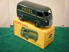 "French Dinky No: 25BV ""Peugeot Post Van (POSTES)"" - Green (Original 1950's)"