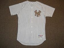 New York Yankees USMC Team Issued Authentic Jersey sz 44 Majestic 2015 Steiner