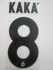 Kaka no 8 Real Madrid Football Shirt Name Set Kids Youth