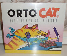 OrtoCat Self Serve Circular Cat Feeder Food/Treats Puzzle Game Toy ~ New