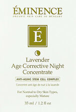 Eminence Lavander Age Corrective Night Concentrate 35ml(1.2oz) Fresh New