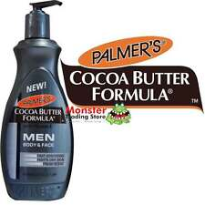 PALMERS 400ML COCOA BUTTER FORMULA WITH VITAMIN E MEN BODY & FACE LOTION PUMP