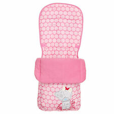 OBABY ME TO YOU TINY TATTY TEDDY PINK PUSHCHAIR FOOTMUFF GIRLS STROLLER COSYTOES