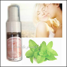 10cc Herbal Mouth Spray Instant Breath Freshener Peppermint Chemical Free