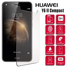 Genuine Ultra Thin Tempered Glass Screen Protector For Huawei Y6 II Compact