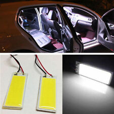 2x 12V Xenon HID 36 COB LED Dome Map Light Bulbs Car Interior Panel Lamp White