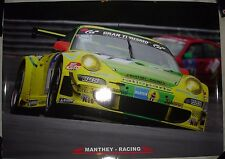 Nurburgring 24 Hour 2008 Winner Manthey Racing Porsche 911 GT3 RSR Glossy Poster