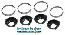 1964-72 Pontiac GTO Lemans Tempest Headlight Head Light Retainer Rings & Buckets