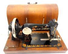 ►Antigua maquina de coser VESTA o HARRIS  de 1917 FUNCIONA no es singer►