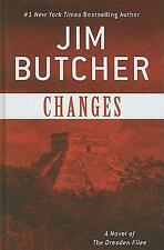 Changes: A Novel of the Dresden Files (Basic)-ExLibrary
