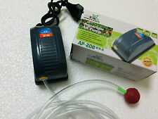 Aquarium Air pump / Motor 1way + 1 mtr air tupe +1 Air Stone  #SS108/AP208/RS180