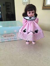 Madame Alexander Baa Baa Black Sheep 34020 Doll FAO SCHWARZ  BOX! Retail $75