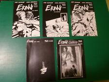 Erinni lotto 5 copie Atto zero, primo, secondo, terzo e Gallery di Ade Capone