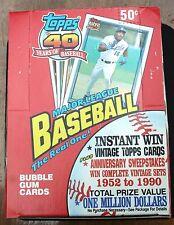 1991 Topps Wax Box (36 Unopened Packs)