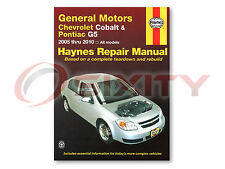 Chevy Cobalt Haynes Repair Manual SS Base LS LT Sport LTZ Shop Service yp