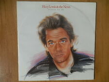 HUEY LEWIS & THE NEWS  / MAXI 45T /  WORLD TO ME