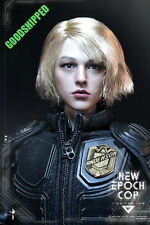 READY! VTS VTS VM-013 NEW EPOCH COP CUSTOM HAND MADE JUDGE ANDERSON DREDD 1/6