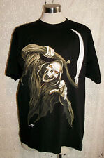 UNISEX/PUNK/GOTH/EMO-&SYTHE  REAPER TEE-SHIRTS. SIZE XL.HEAVY COTTON. NEW