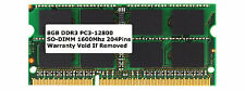 8GB RAM DDR3 SODIMM 204-PIN 1600 MHz PC3-12800 LAPTOP HP IBM DELL MEMORY