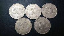 50sen--1967,68--1lots--high grade