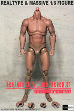 1/6 Emulated Muscular Body GangHood For Hot Toys Bane Arnold Head SHIP FROM USA