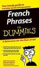 French Phrases for Dummies by John Wiley & Sons Inc (Paperback, 2004)