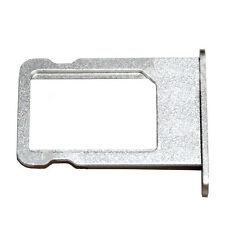 Apple iPhone 5 Sim-Tray Sim karten Halter Nano Schlitten Adapter in Silber