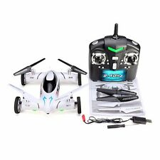 US SY X25 2.4G 8CH 6-Axis Gyro 3D RC Quadcopter Drone Land Sky Copter Car w/ Cam