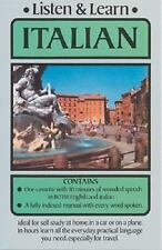 Listen and Learn Italian by Dover Staff and Listen and Learn Staff (1986,...