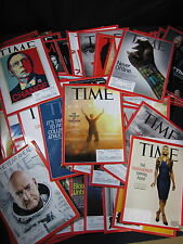 Time Magazine HUGE Set of 156 (Misc. 2009 - 2015) - Includes Shipping!