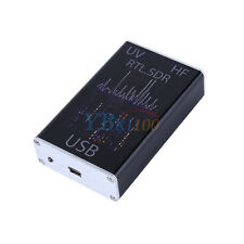 100KHz-1.7GHz full band UV HF RTL-SDR USB Port Tuner Receiver Ham Radio Video