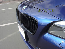High Gloss/Piano Black BMW F10 F11 Sedan 4D Front Grill Grilles 530d 535d 520d