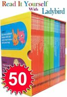 Read it Yourself with Ladybird Collection 50 Books Box Set Pack Level 1 To 4 NEW