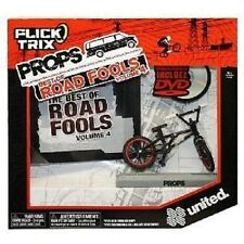 Flick Trix Props Best of Road Fools UNITED Black /w DVD, NEW by Spin Master