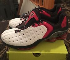 Nike Shox VC Low White Black Red Silver Vince Carter 303971-101 Size 12 Men's