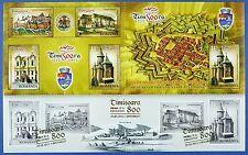 Rumanía Romania 2012 alzaron Timisoara arquitectura bloque 528 mnh a: 500