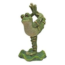 Dancing In The Creek Leg Up Frog Garden Pond Pool Ribbit Statue